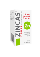 Zincas<sup>®</sup> Forte<br/>lek OTC